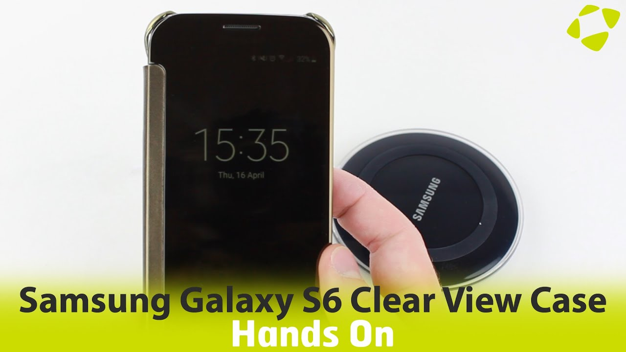 samsung s6 clear view case