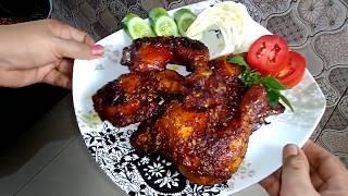 Mau buat ayam bakar ga tau resepnya?Silahkan tonton video ini sampai habis resep dan caranya sangat mudah, mau bakar ayam tapi takut asapnya ...