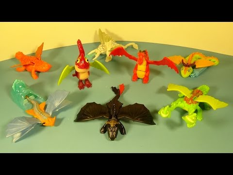 2014-how-to-train-your-dragon-2-set-of-8-mcdonald's-happy-meal-movie-toy's-video-review