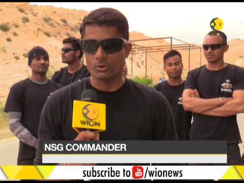 Indian NSG team participate in Annual Warrior competition in Jordan