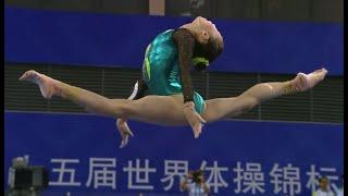 2014 World Artistic Gymnastics Championships Nanning Women's Balance Beam Final WAG BB EF