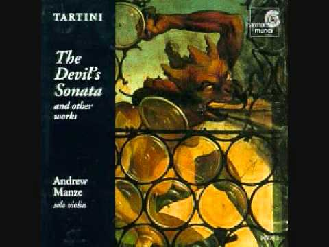 Tartini Solo Violin Music - Andrew Manze