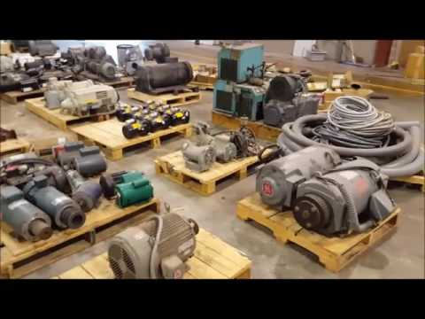 Industrial Equipment Auction - Oldham Auctions