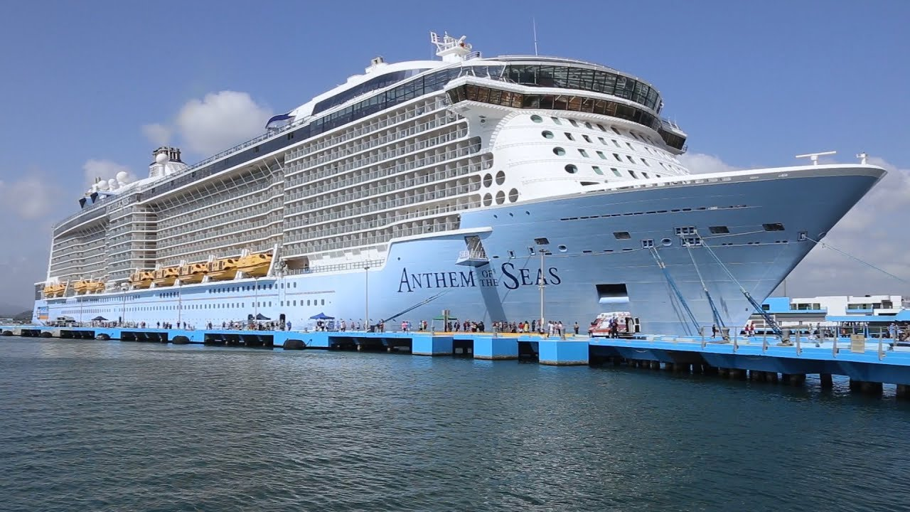 Anthem Of The Seas Ship Tour 2019 See The Whole Ship In Under 7