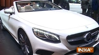 Auto Expo 2016: Features of Mercedes-Benz S-Class S 500 Cabriolet