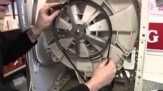 Как заменить подшипники стиральной машины Bosch(Машинка во время стирки и выжимки белья вдруг начинает издавать странные звуки (грохотать, скрежетать,..., 2013-11-26T07:38:44.000Z)