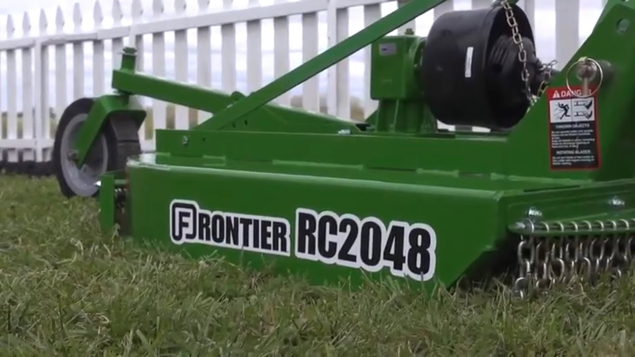 Bush Hog Accidents : John deere how to adjust and use a rotary cutter