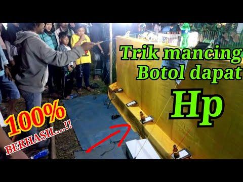 Bongkar Rahasia Mancing Botol Berhadiah Hp Dipasar Malam   Games Easy But Difficult
