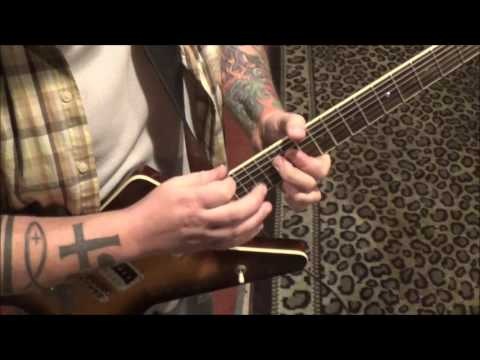 The New Periodic Table Song(Rock Arrangement) - CVT Guitar Lesson by Mike Gross(part 2)