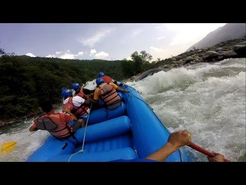 Rafting in Beas River at Kullu || Gopro HD camera