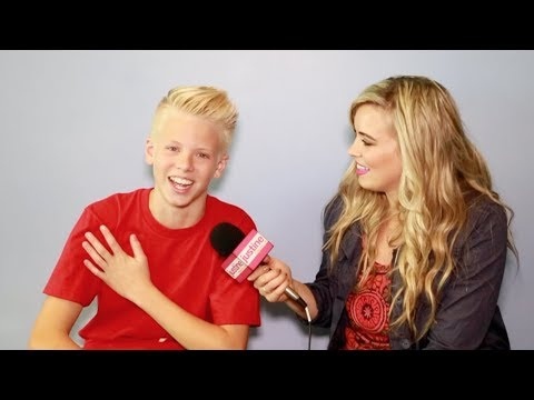 Justine Magazine: Carson Lueders on Music, Pickup Lines, Food Allergies & More!