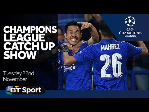 Champions League Catch Up Show   Leicester  Spurs  Dortmund   Goals and Highlights New Flash Game