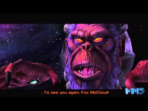 Star Fox Adventures - General Scales & Andross Final Boss