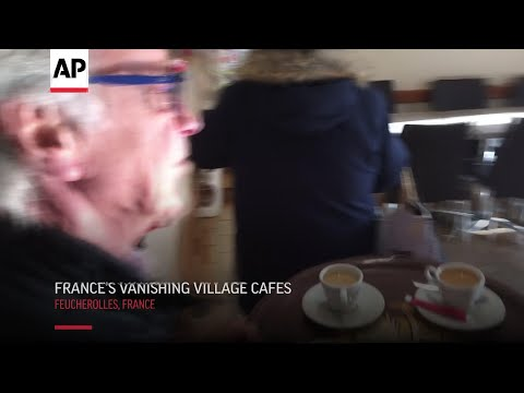 Iconic Cafes Of France In Decline