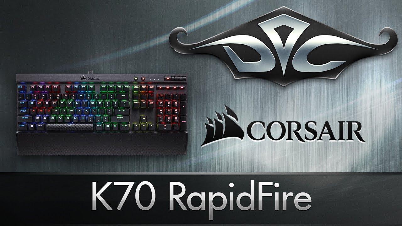 Обзор игровой клавиатуры Corsair K70 Rapidfire с Cherry MX Speed