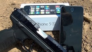 can an iphone 5s save your life iphone 5s vs 22lr