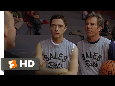 In Good Company (6/10) Movie CLIP - Can I Still Dunk? (2004) HD