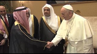 Pope's meeting with the World Muslim League