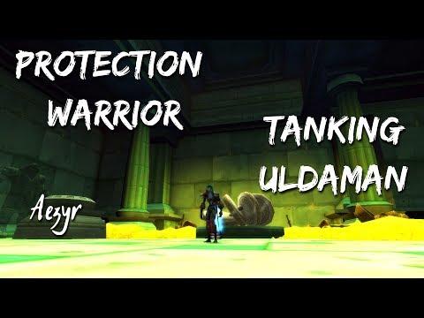 WoW: Classic | Tanking Uldaman as Prot Warrior [ULDA] FULL CLEAR| Aezyr