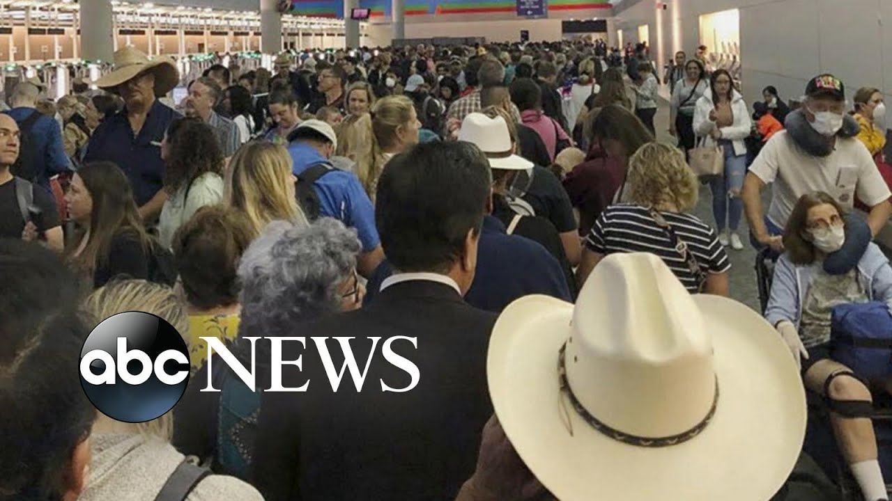 Chaos in American airports