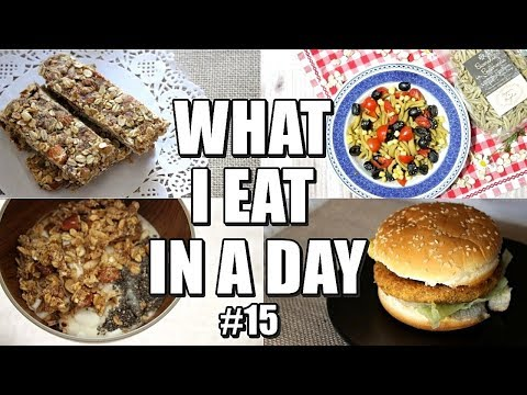COSA MANGIO IN UN GIORNO #15 | WHAT I EAT IN A DAY!🍔