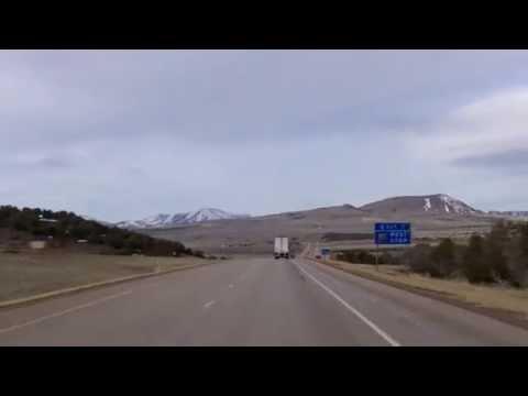 The Western Terminus of Interstate 70 in Utah