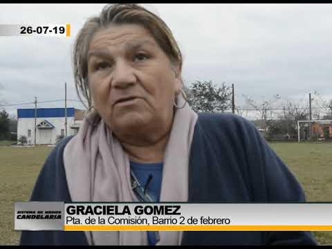 Barrio 21 De Septiembre - Graciela Gomez Pta Comision Del Barrio - 2da Parte