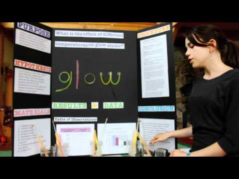 emma's science fair presentation - youtube, Presentation templates