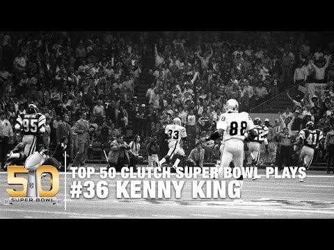 #36: Kenny King 80-yard TD Reception Super Bowl XV | Top 50 Clutch Super Bowl Plays