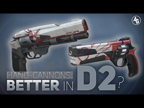 Are Hand Cannons better in Destiny 2? | Hand Cannon Breakdown