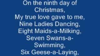 relient k   12 days of christmas lyrics