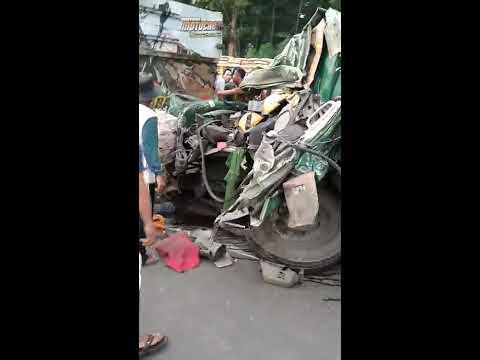 Tragedi Kecelakaan Bruntun Di Subah Kab Batang Jateng
