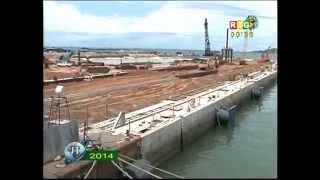 Des Chantiers du PRAC (Port Autonome de Conakry)