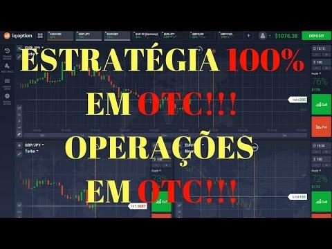 IQ Option- Operando em OTC- Técnica 100% - Estocástico+RSI