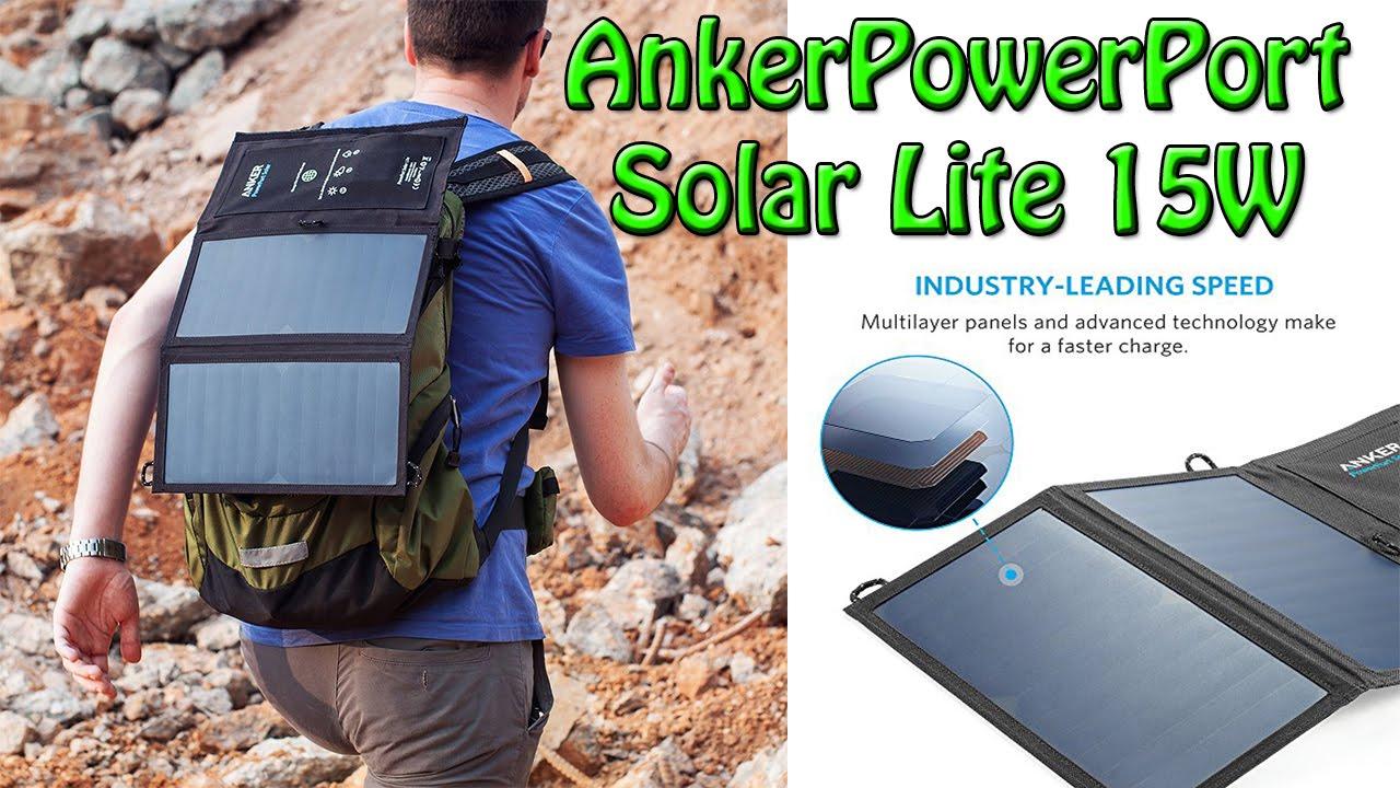 Anker Powerport Solar Lite 15w 2 Port Solar Charger