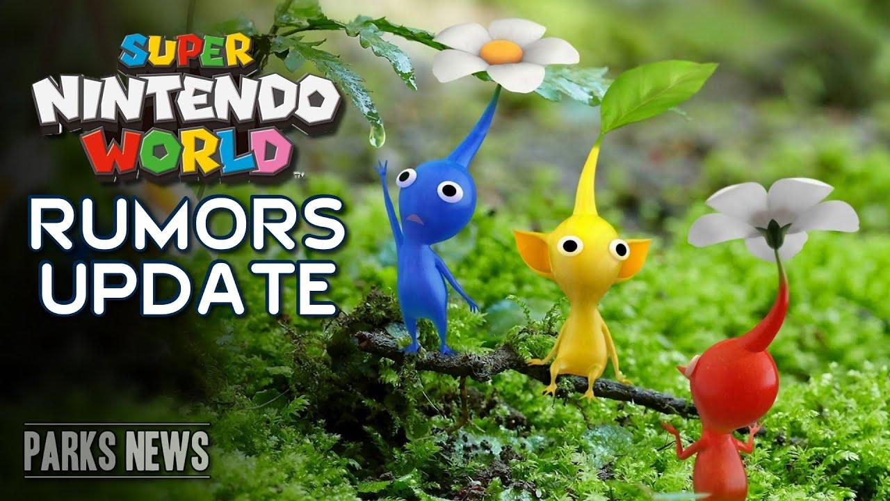 Super Nintendo World's Hidden Pikmin Rumors - Universal Studios ParksNews