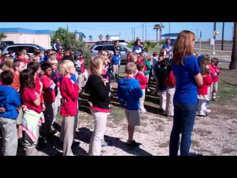 Seashore Learning Center Veterans Day Flag Ceremony