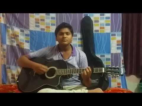 Adiga adiga song with guitar
