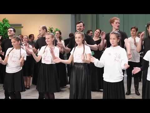 Вокально хореографическая студия «Фолкдети»   спутник Хора имени Пятницкого