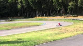 オールズレーシングカートレンタルにて20121013 井頭レンタル走行してい...