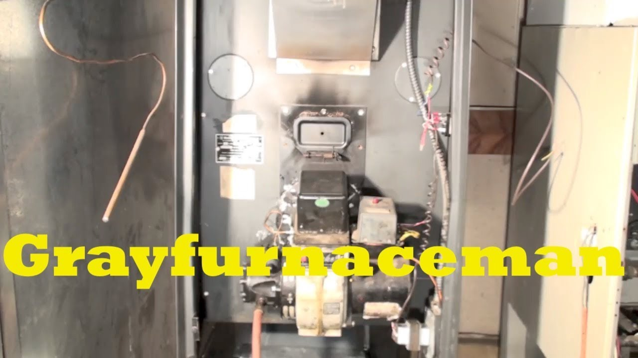 Troubleshoot the oil furnace part 1 Burner won't start  YouTube