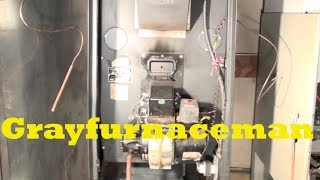 Troubleshoot the oil furnace part 1. Burner won