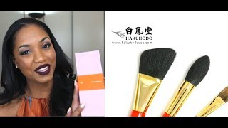 DETAILED REVIEW || HAKUHODO Brushes - J Series, 200 Series, S Series and G Series