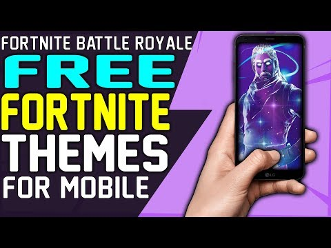 How To GET FREE FORTNITE MOBILE THEMES - RAVEN THEME RED KNIGHT THEME GALAXY THEME