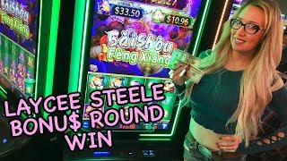 Laycee Steele BONU$ WIN$ 🌸Baishou Feng Xiang Slots | Slot Ladies