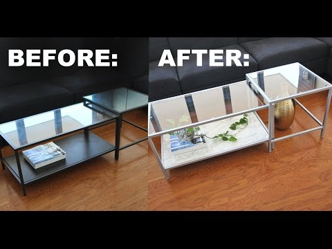 Coffee Table Makeover: Update a Cheap Secondhand Find into a Stylish Gem