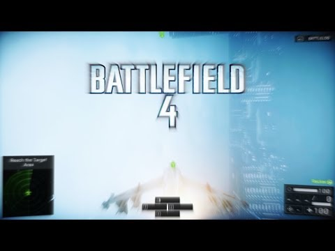 Battlefield 4 - Flying a Jet on Campaign Mission Singapore