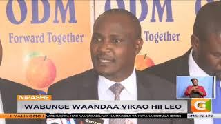Nasa yatangaza kumunga Rais Kenyatta