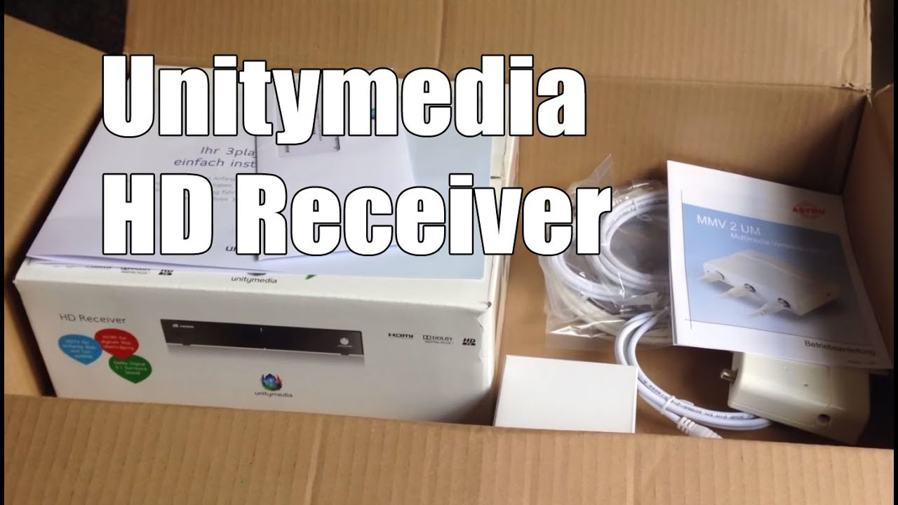 Unitymedia HD Receiver Test und Review - YouTube
