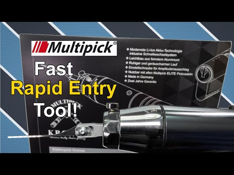 "[322] Pick Locks In Seconds! | Review of the Multipick ""KRONOS""  Electric Lock Picking Gun (EPG)"